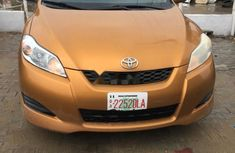 Clean Tokunbo Used Toyota Matrix 2009