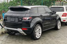 Clean Tokunbo Used Land Rover Range Rover Evoque 2013