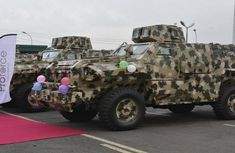 Nigerian Army launches 4 mine-resistant vehicles to combat terrorism and insurgency
