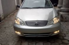 Neat Foreign used Toyota Corolla 2003 model