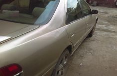 Properly maintained Nigerian used Toyota Camry tiny Light 1999