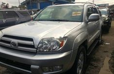 Clean Tokunbo Used Toyota 4-Runner 2004