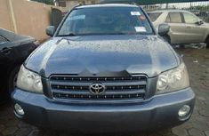 Clean Nigerian Used Toyota Highlander 2001