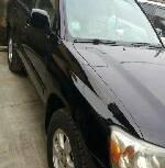 Clean Nigerian Used Toyota Highlander 2003