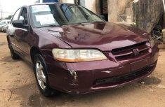 Clean Nigerian Used  Honda Accord 2000