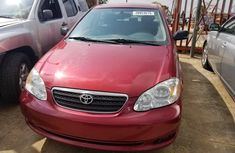 Clean Tokunbo Used Toyota Corolla 2006