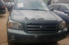 Clean Nigerian Used Toyota Highlander 2006