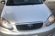 Nigerian Used Toyota Corolla 2007 Model