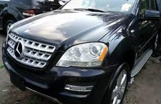 Clean Tokunbo Used Mercedes-Benz ML350 2011