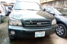 Super Clean Nigerian used 2003 Toyota Highlander