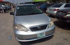 Neat Nigerian used Toyota Corolla 2005