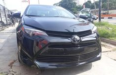Clean Tokunbo Used  Toyota Corolla 2017