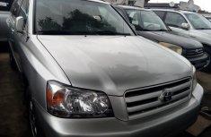 Clean Tokunbo Used Toyota Highlander 2007