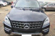 Clean Nigerian Used Mercedes-Benz M-Class 2012