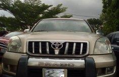 Neat Nigerian used Toyota Prado 2008