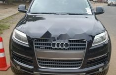 Clean Tokunbo Used Audi Q7 2007