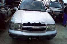 Clean Nigerian Chevrolet Tracker 2001