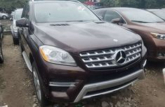 Foreign Used Mercedes-Benz ML350 2012 Model Black for Sale