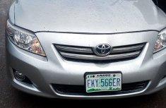 Toyota Corolla Nigeria Used 2009