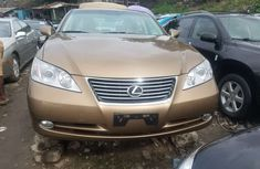 Foreign Used Lexus ES 350 2008 Model Gold for Sale