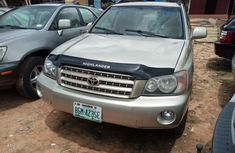 Extra clean Nigeria used Toyota Highlander 2003