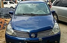 Nigerian Used Nissan Tiida 2008 Blue Colour