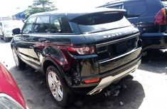Foreign Used Land Rover Range Rover Evoque 2013 Model