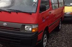 Clean Tokunbo Used Toyota HiAce 1995