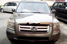 Clean Nigerian Used Honda Pilot 2007