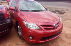 Super Clean Tokunbo Used Toyota Corolla 2012