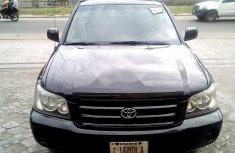 Nigerian Used Toyota Highlander 2002