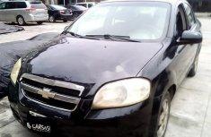 Neat Nigerian used 2008 Chevrolet Aveo