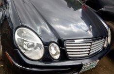 Mercedes-Benz E350 2006 Petrol Automatic Black