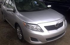 Nigerian Used Toyota Corolla 2009 Model
