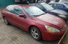 Clean Nigerian Used 2006 Honda Accord Automatic in Lagos