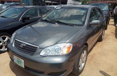 Clean Nigerian Toyota Corolla 2007