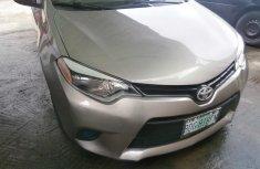 Neat Nigerian used Toyota Corolla 2015