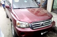 Nigerian Used Toyota Highlander 2003