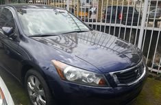 Clean Tokunbo Used Honda Accord 2008 Blue