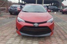 Neat Toyota Corolla Nigeria Used 2018