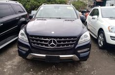 Clean Foreign Used Mercedes-Benz ML350 2012
