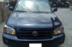Nigerian Used Toyota Highlander 2006 Model in Nigeria