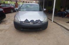 Neat Nigerian used 2003 Honda Accord