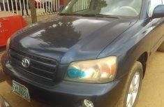 Nigerian Used Toyota Highlander 2004 Model in Lagos