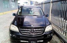 Clean Nigerian Used  Mercedes-Benz ML350 2006