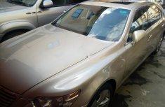 Neat Tokunbo Used Lexus LS 2012