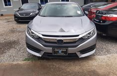 Clean Tokunbo Used Honda Civic 2016 Grey/Silver