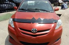 Clean Tokunbo Used Toyota Yaris 2006 Red