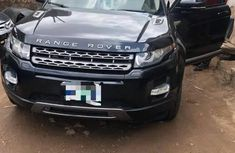 Clean Nigerian Used Land Rover Range Rover Evoque 2012