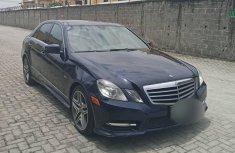 Clean Nigerian used 2012 Mercedes-Benz E350